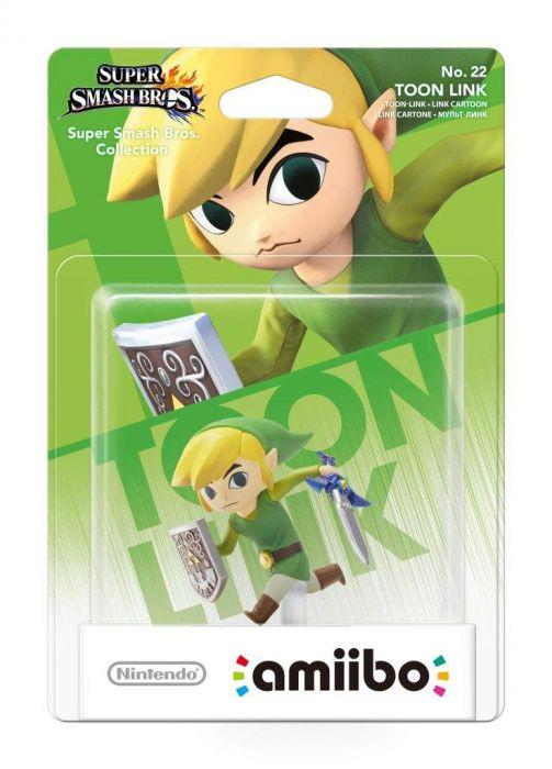 Amiibo Link Cartoon Super Smash Bros Collection