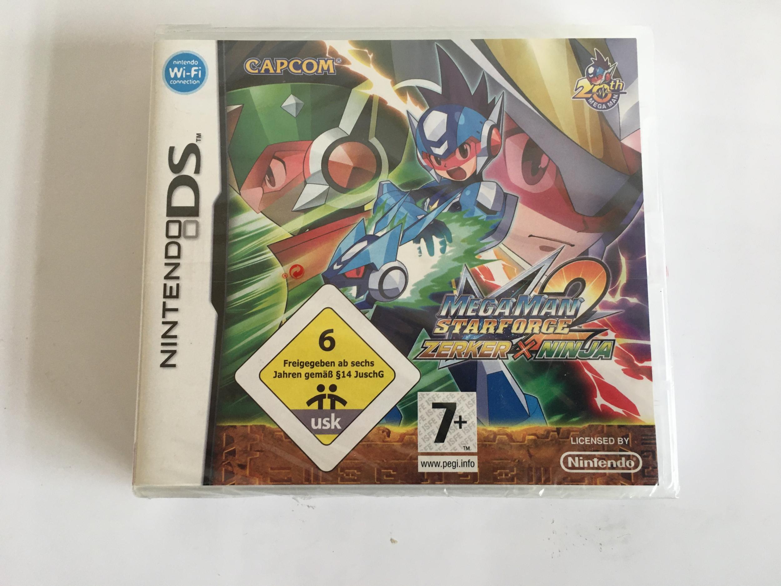 Megaman Star Force 2 Zerker X Ninja Nintendo DS