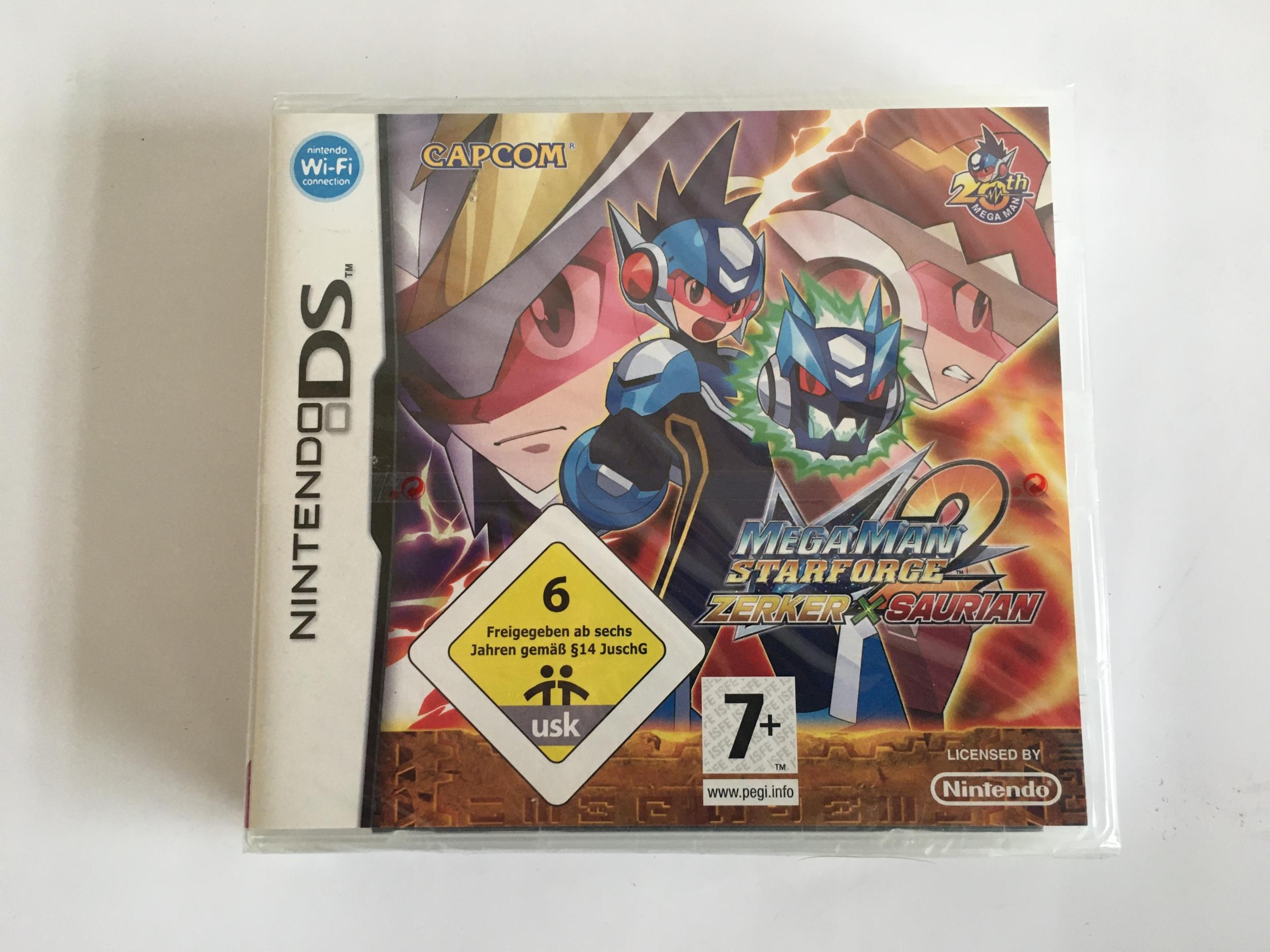 Jeu Ds Mega Man Star Force 2 Zerker x Saurian