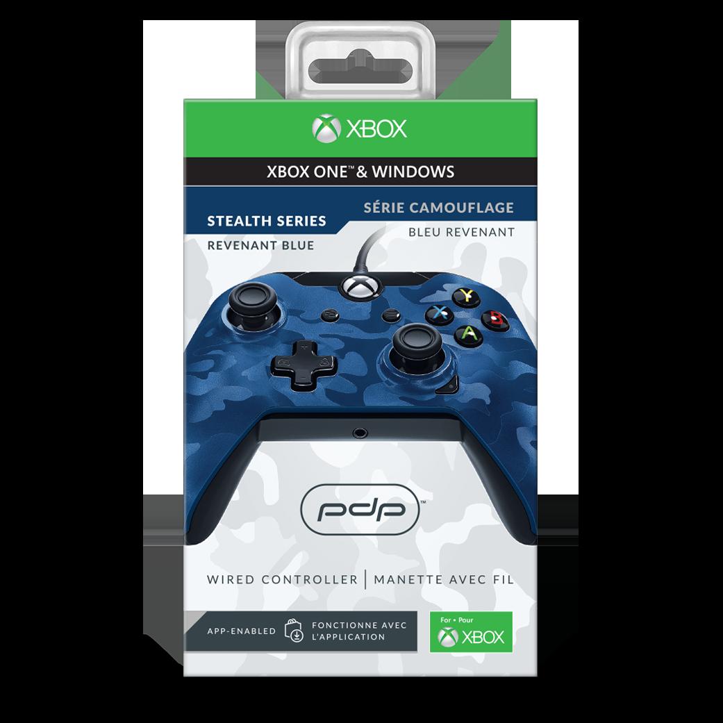 Manette Filaire Bleu Revenant Xbox One - PC