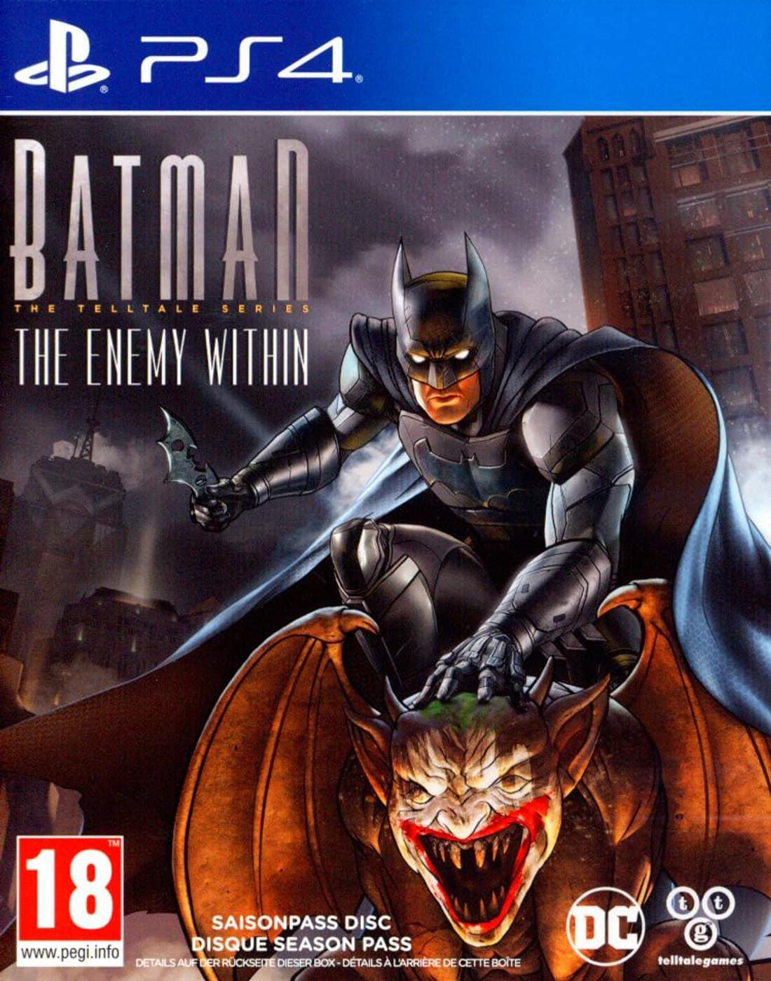Batman The Telltale Series L\'ennemi intérieur PS4 occasion