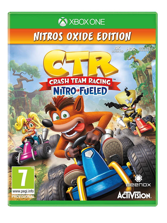 Crash Team Racing Nitro Fueled Nitros Oxide Edition Xbox One
