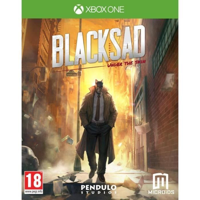 Blacksad Under the Skin Edition Limitée Xbox One