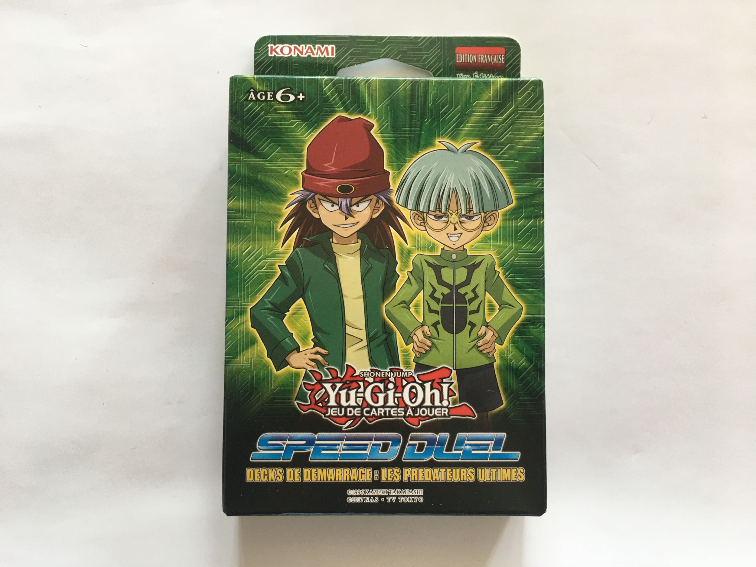 Deck de démarrage Speed duel prédateurs