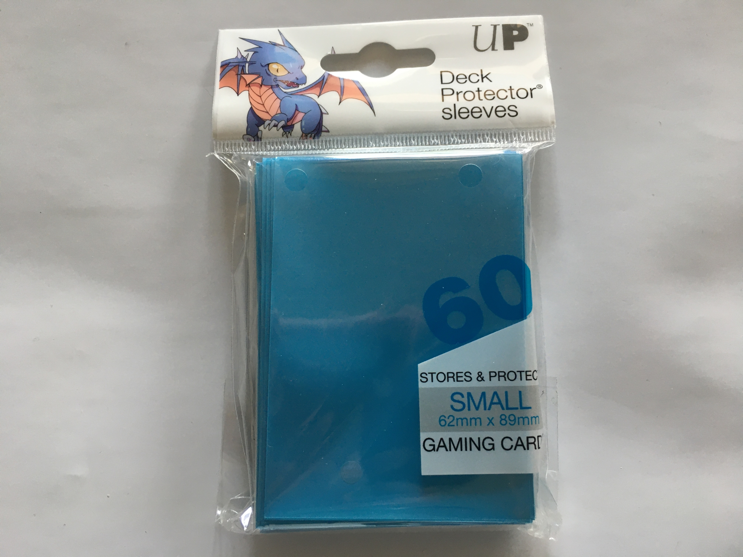Ultra Pro : Protection Cartes Format Japonais Bleu