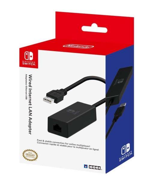 Adaptateur Hori Ethernet vers USB pour Nintendo Switch