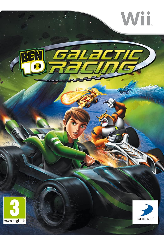 Ben 10 Galactic Racing Wii occasion