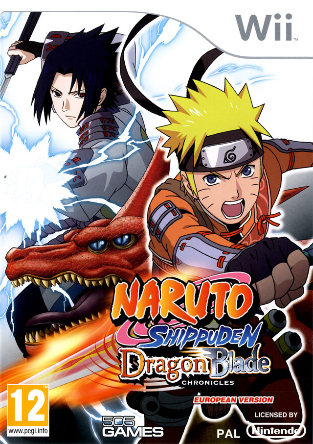 Naruto Shippuden Dragon Blade Chronicles Wii occasion