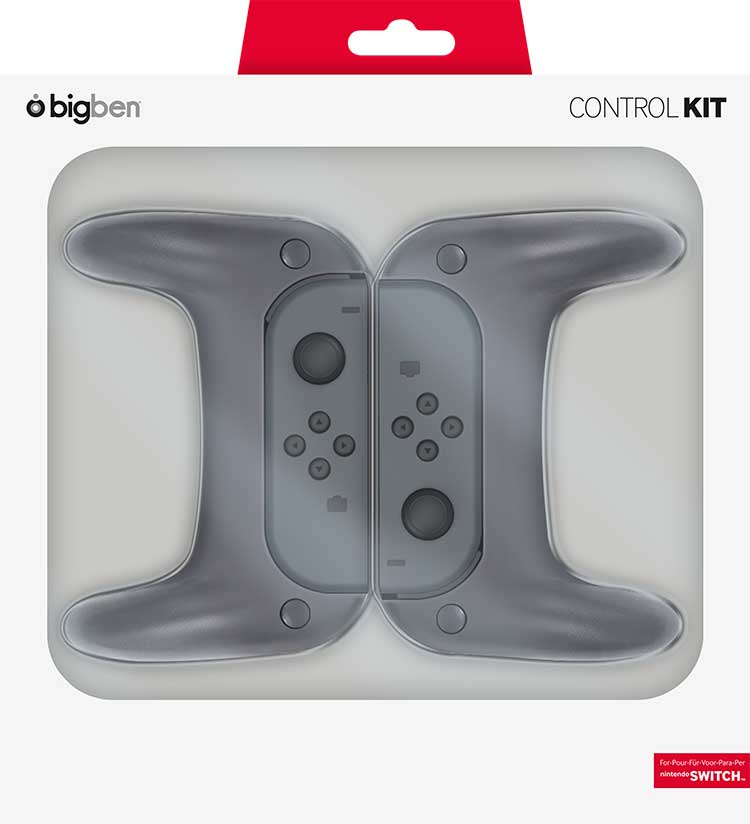 Pack 2 Grip pour Joy-Con Switch