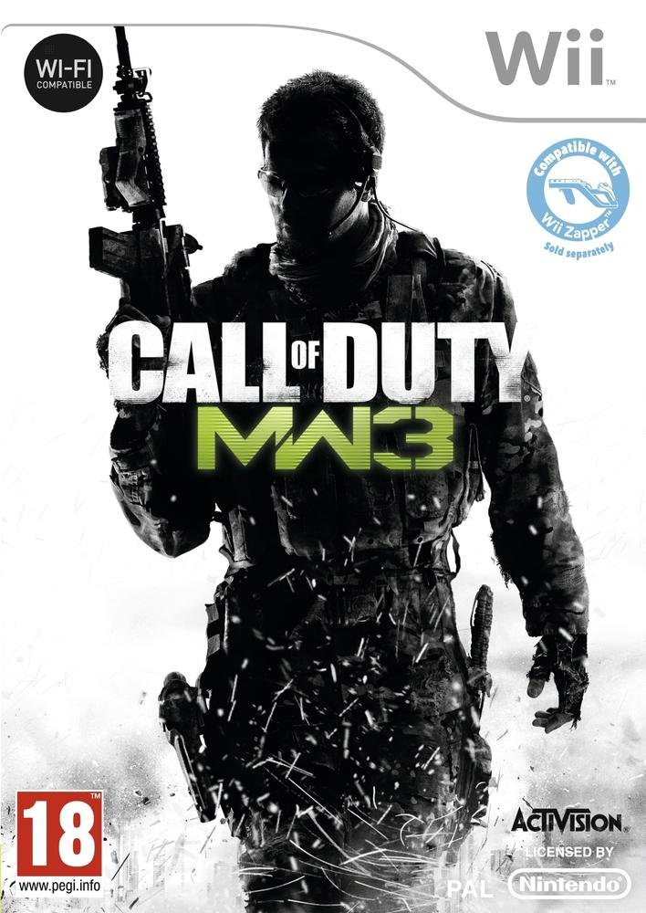 Call Of Duty Modern Warfare 3 Wii occasion