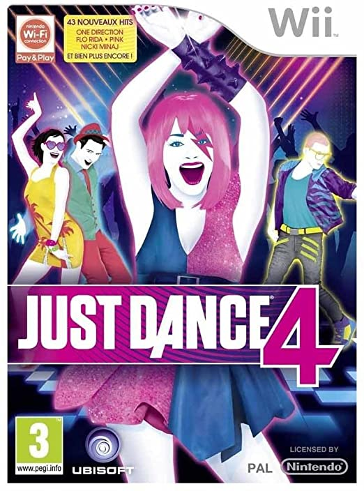 Just Dance 4 Wii occasion
