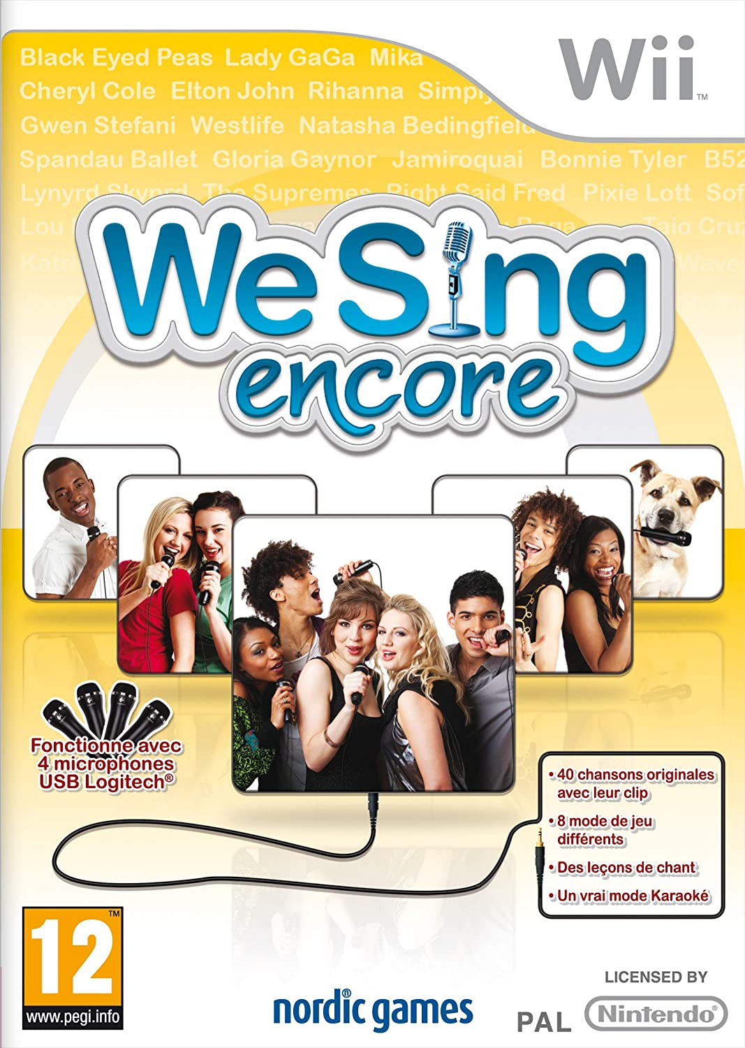 We Sing Encore Wii occasion