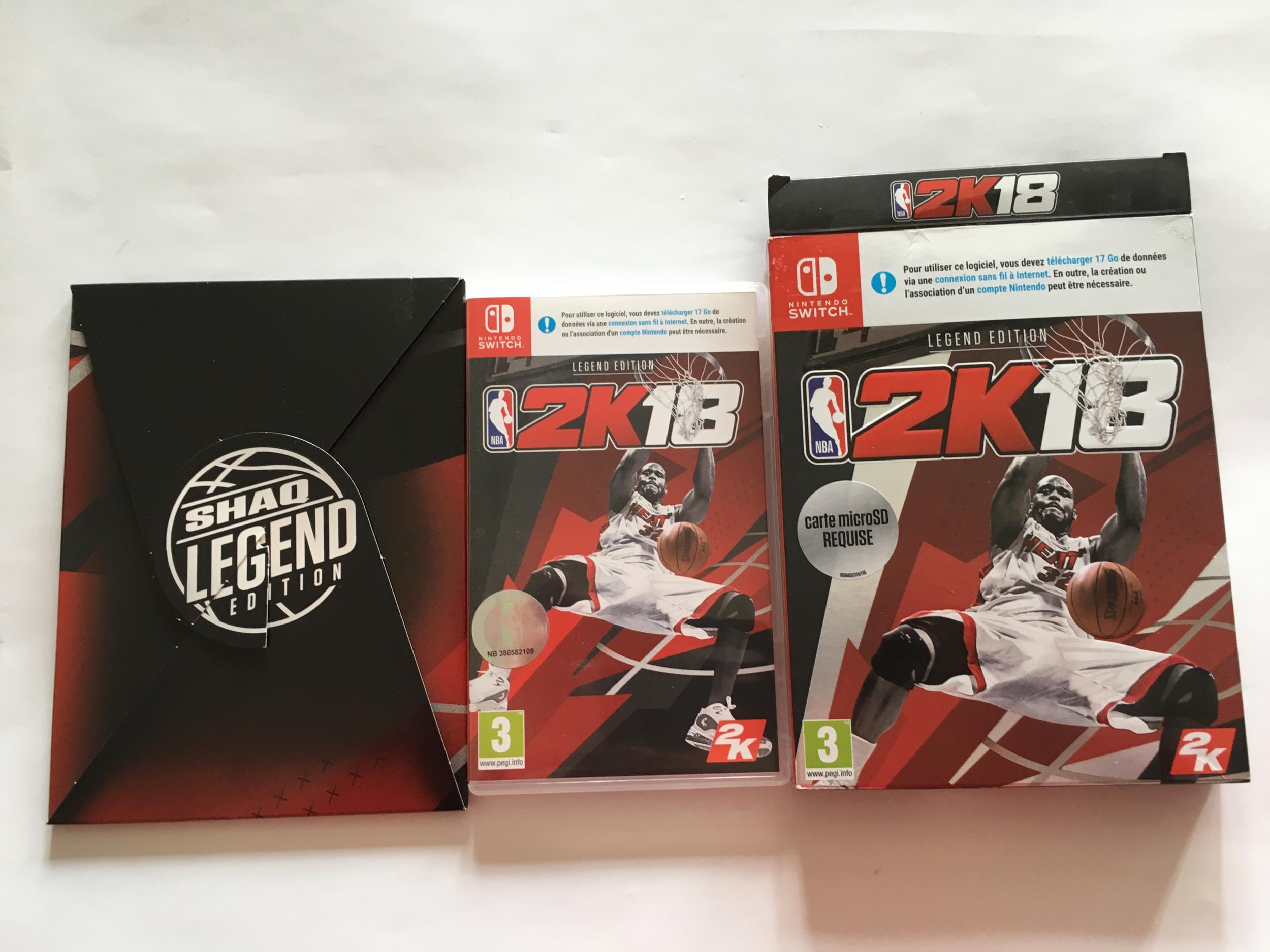 NBA 2K18 Legend Edition Nintendo Switch occasion