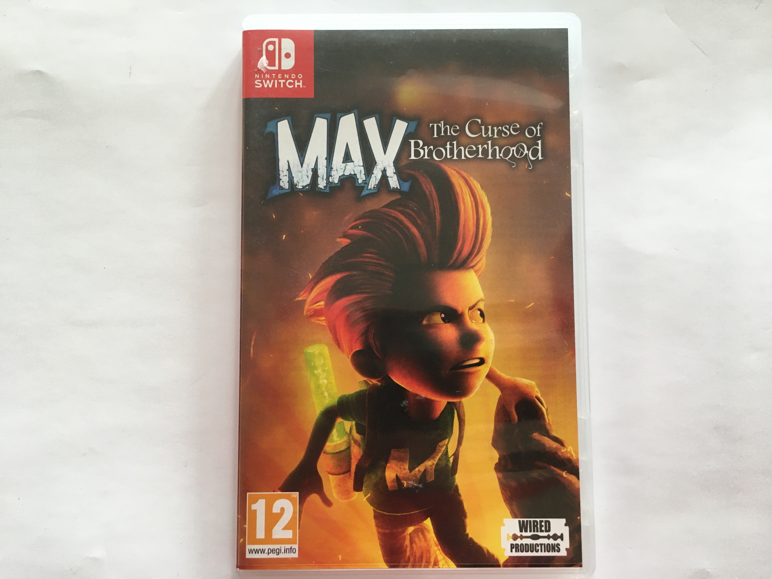 Max The Curse of The Brotherhood Nintendo Switch occasion