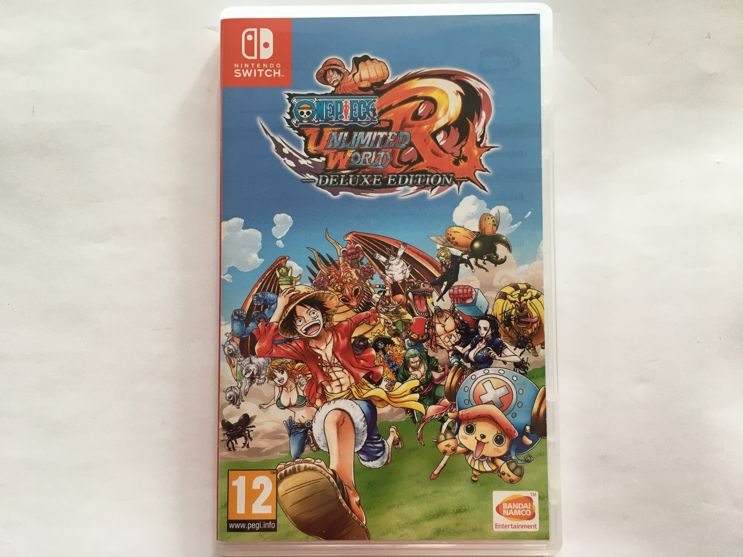 One Piece Unlimited World Red Edition Deluxe Nintendo Switch occasion
