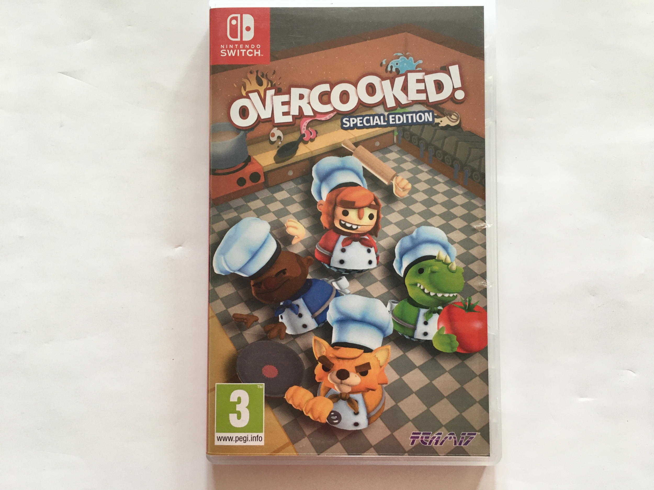 Overcooked ! Special Edition Nintendo Switch occasion