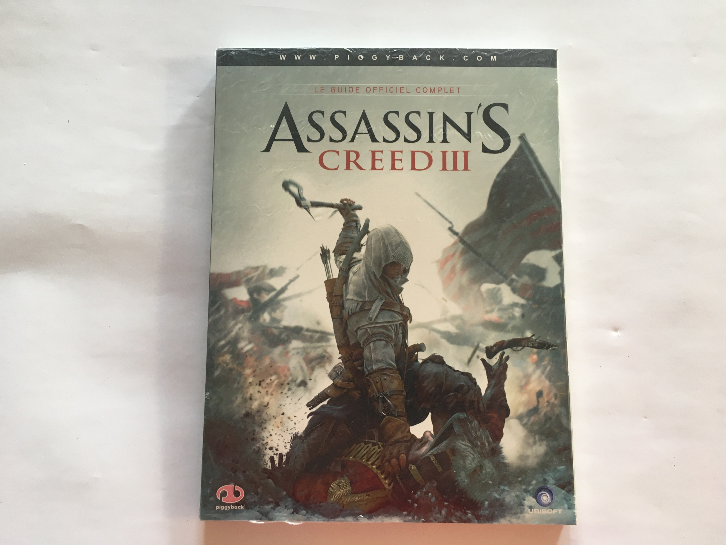 Guide Officiel Complet Assassin\'s Creed III Neuf FR