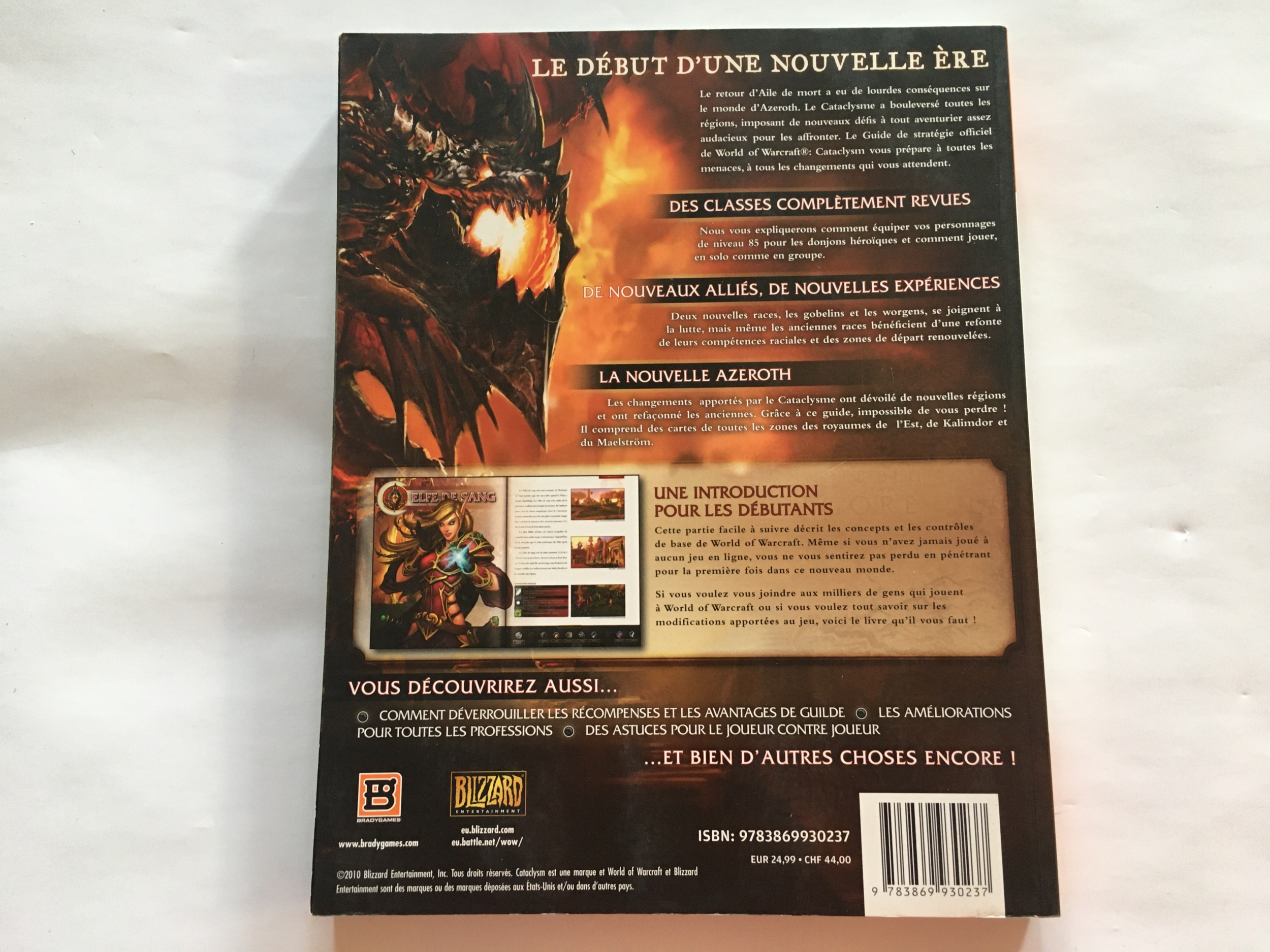Guide World of Warcraft Cataclysm FR occasion