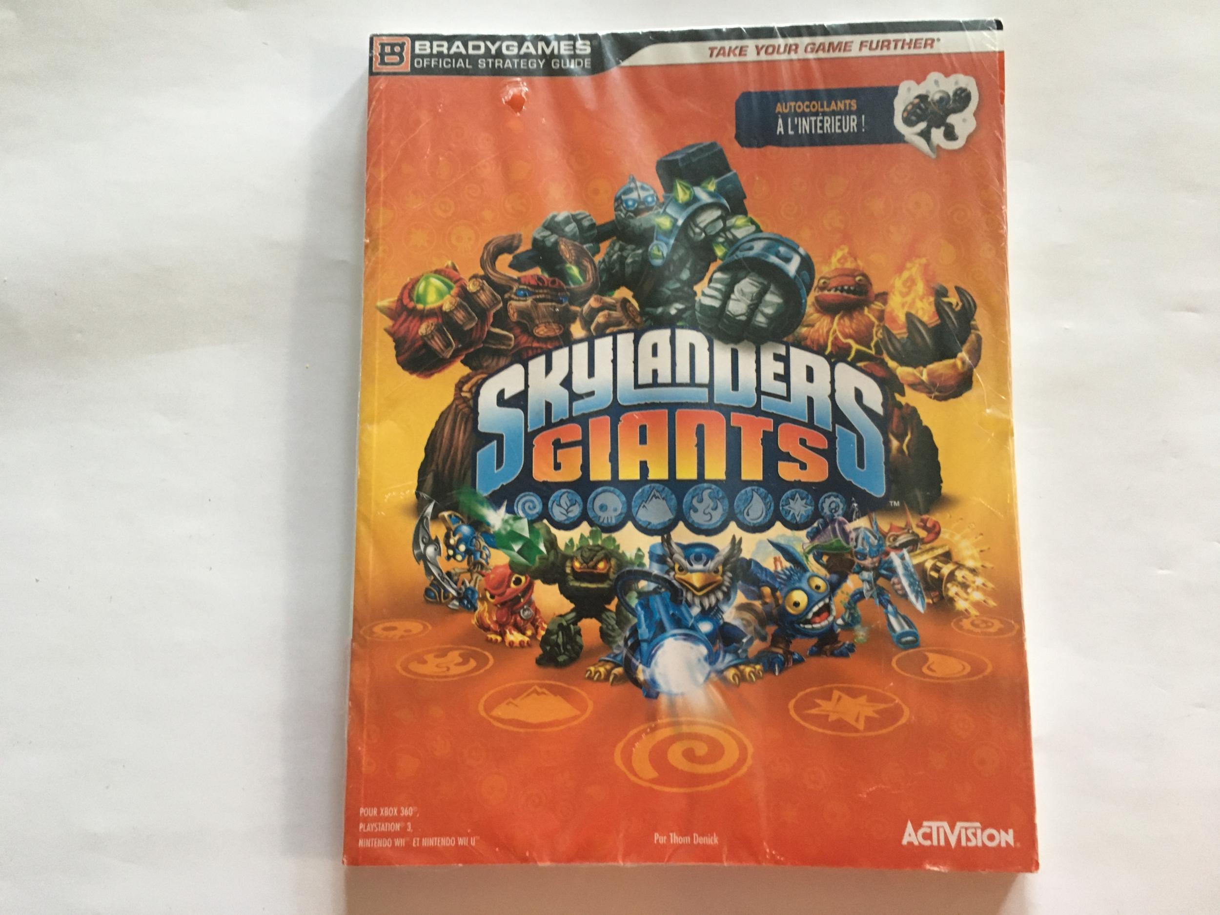 Guide Skylanders Giants Neuf FR
