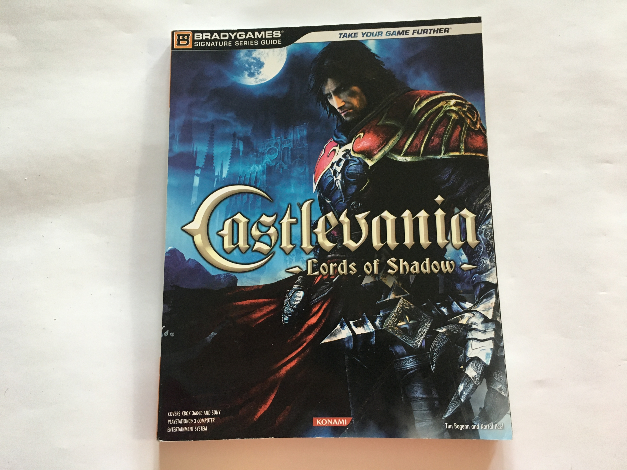 Guide Stratégique Officiel Castlevania Lords of Shadow EN occasion