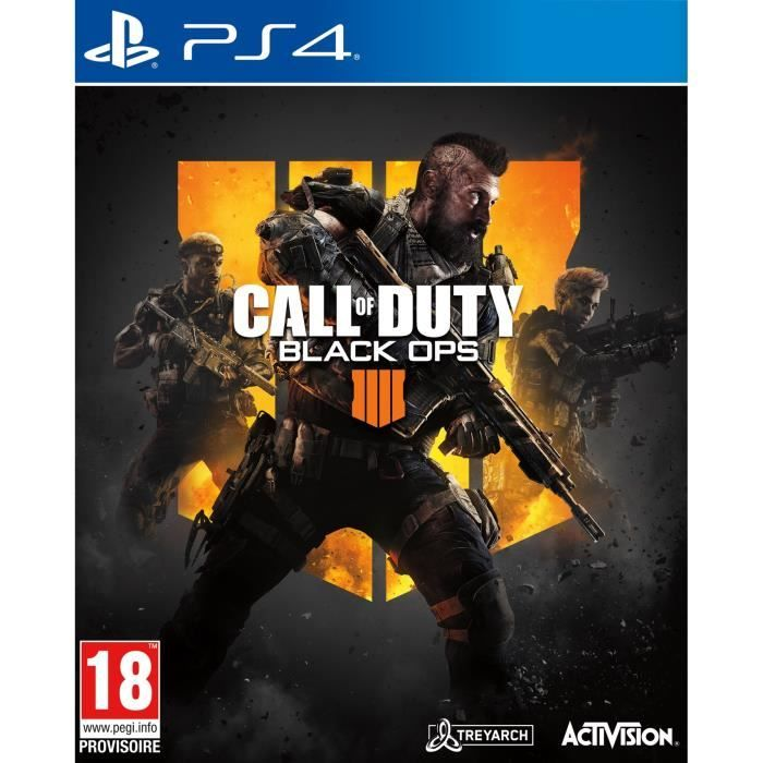 Call of Duty Black Ops IIII PS4 occasion