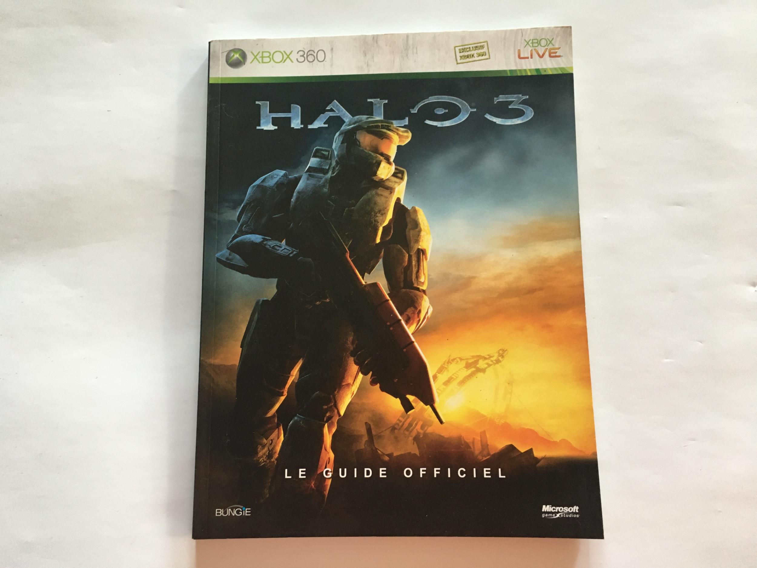 Guide Officiel Halo 3 FR occasion