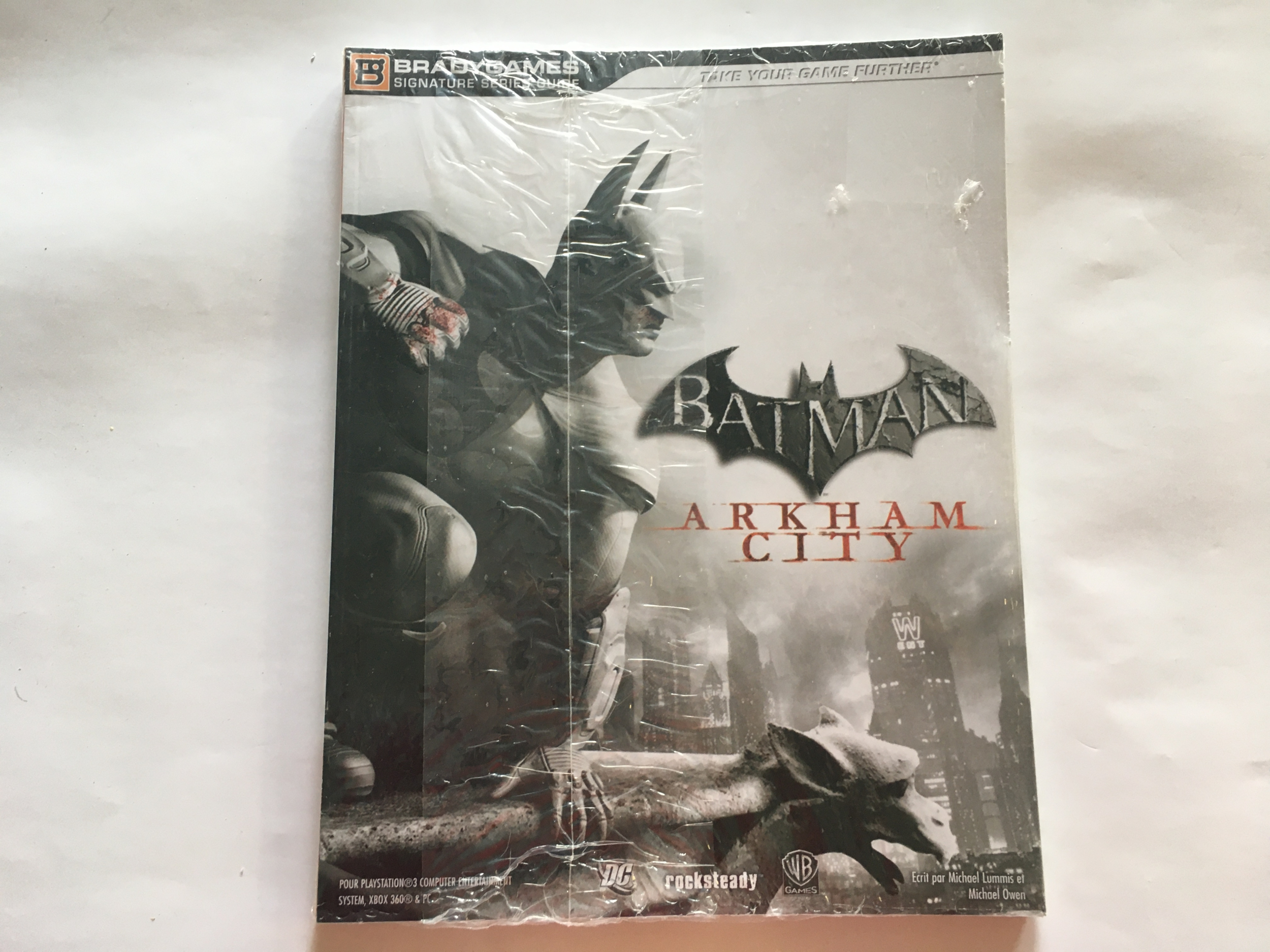 Guide Batman Arkham City Neuf FR