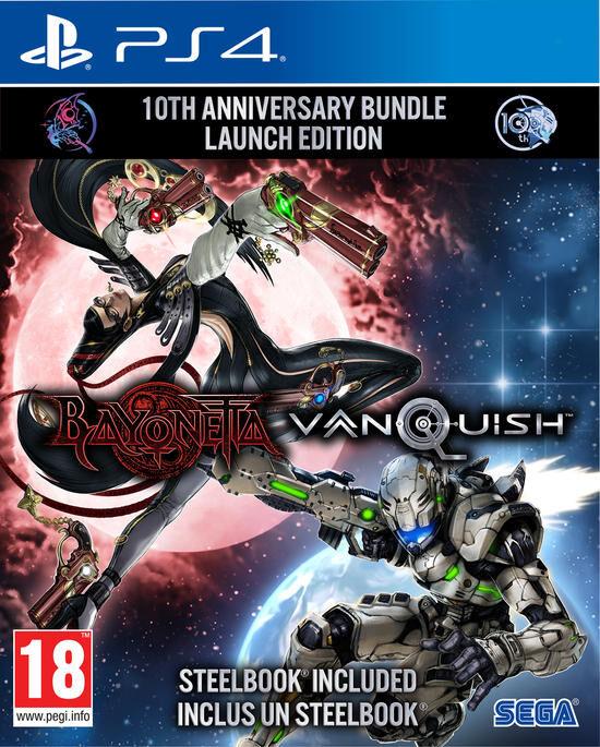 Bayonetta & Vanquish 10th Anniversary Bundle Launch Edition PS4