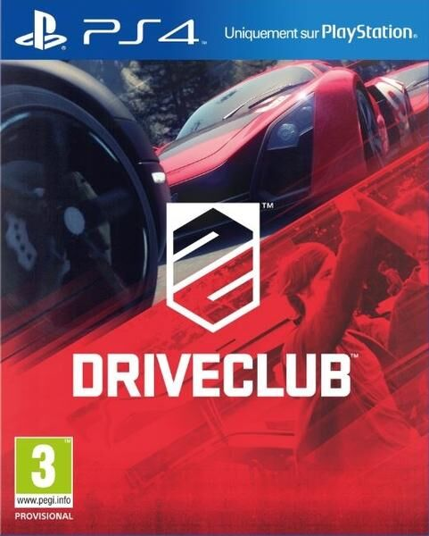 Driveclub PS4 occasion