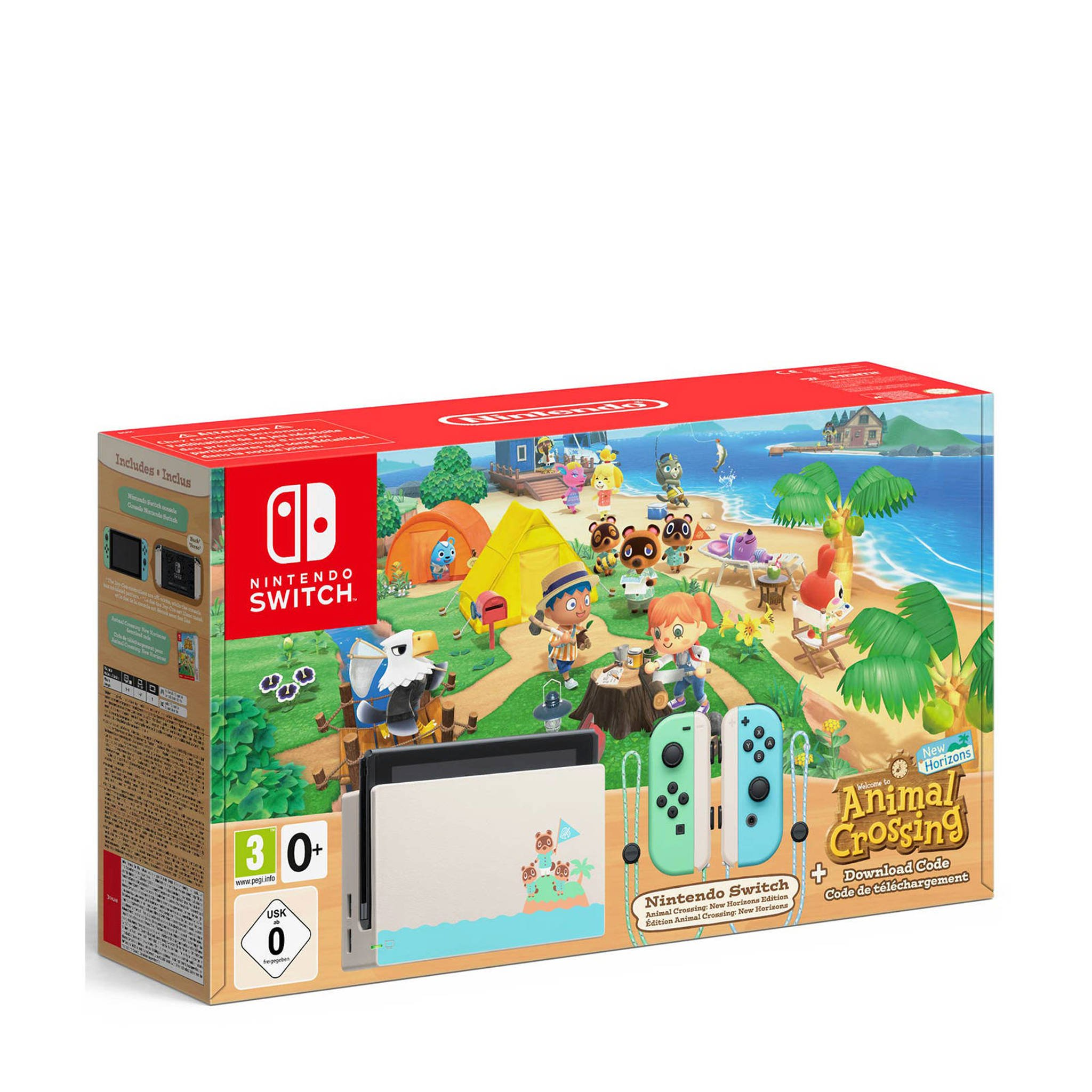 Console Nintendo Switch Animal Crossing New Horizons Edition