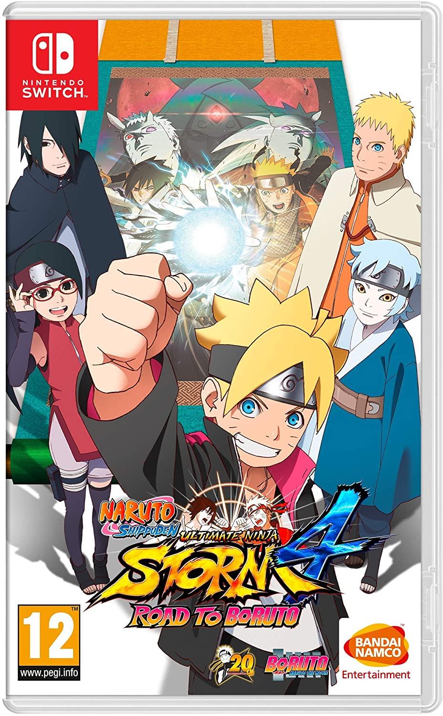 Naruto Shippuden Ultimate Ninja Storm 4 Road to Boruto Nintendo Switch