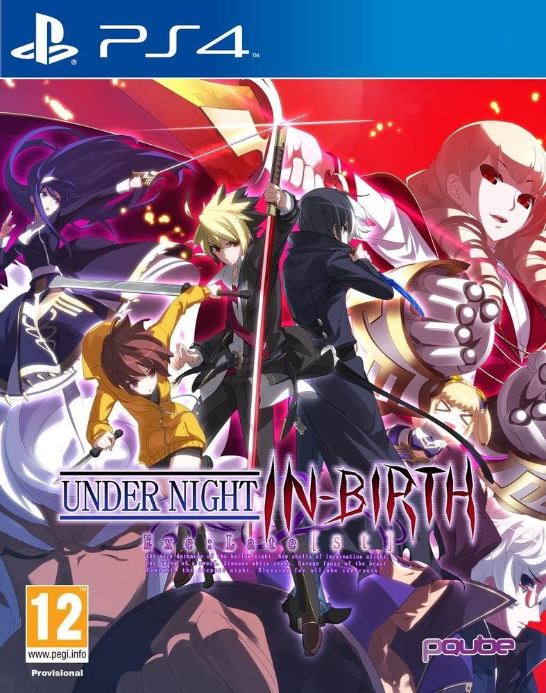 Under Night In Birth Exe Late PS4