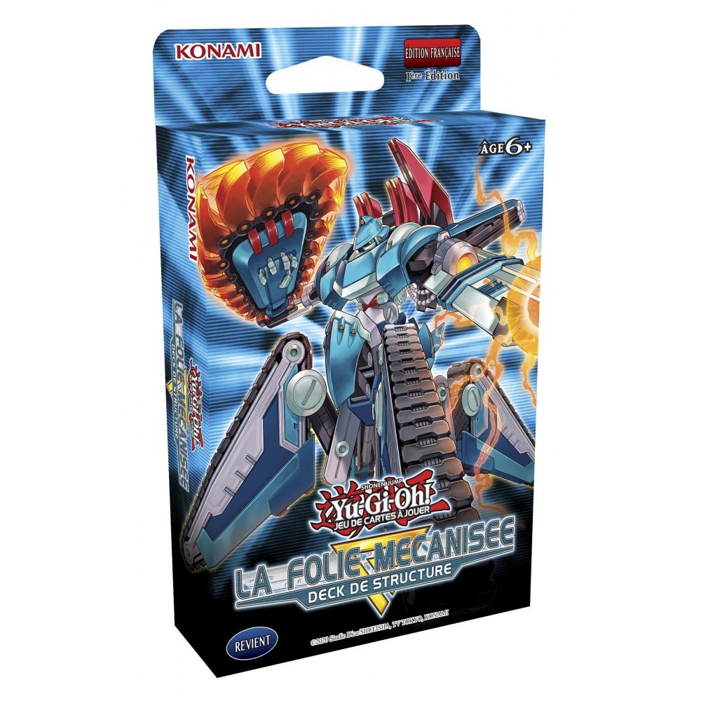 Deck de Structure Yu-Gi-Oh! Folie Mécanisée