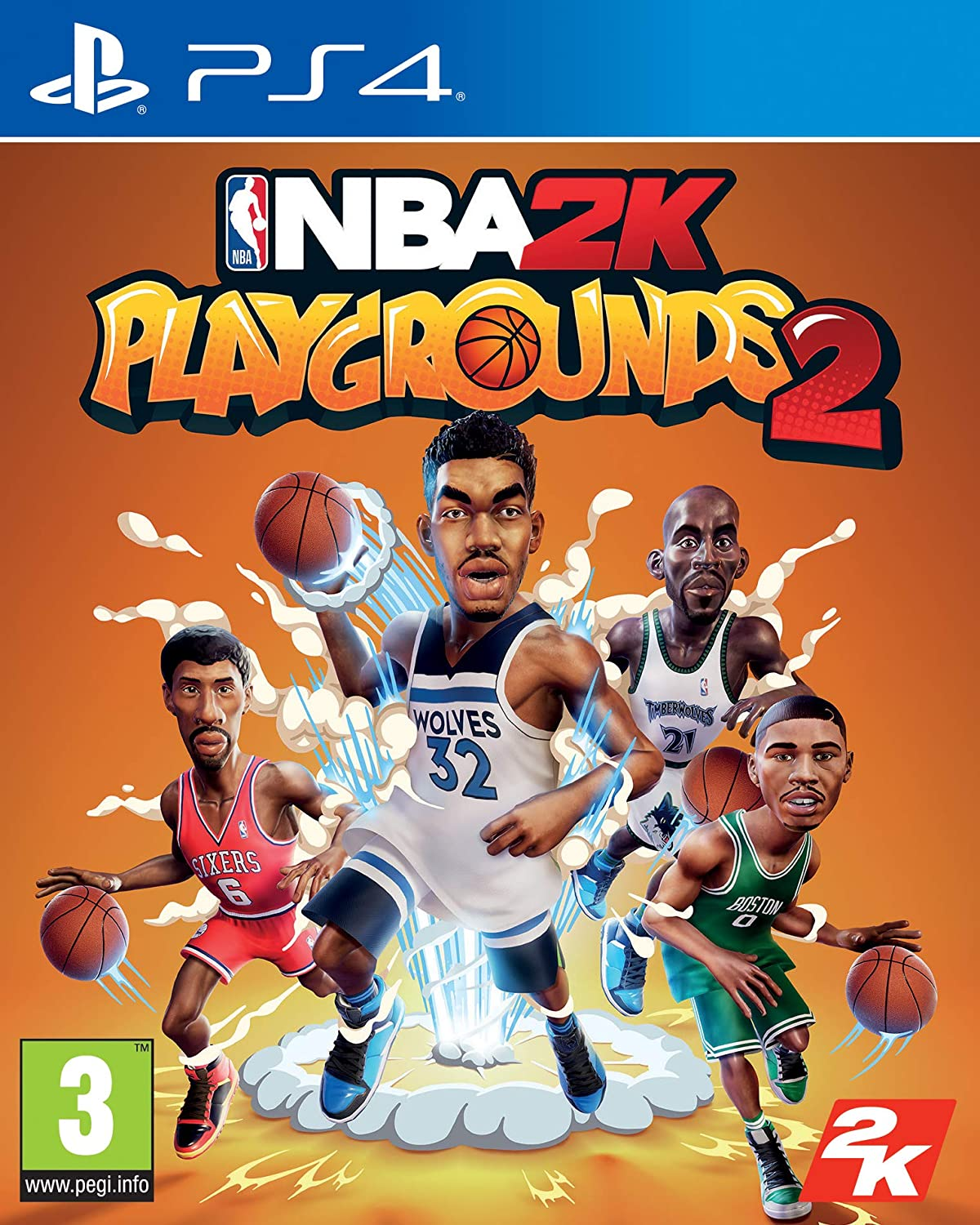 NBA 2K Playgrounds 2 PS4 occasion