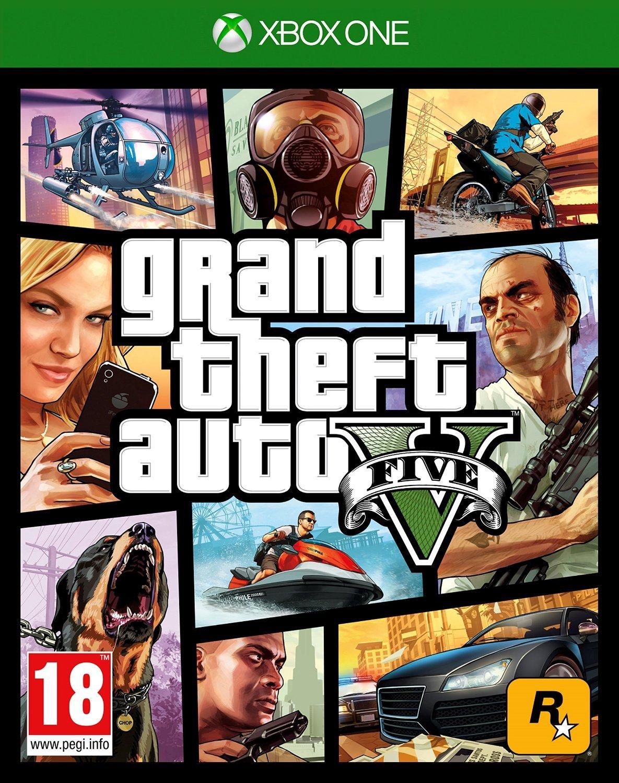 GTA Grand Theft Auto V Xbox One occasion