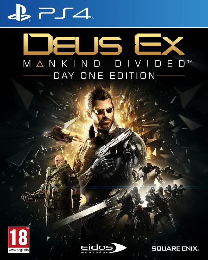Deus Ex Mankind Divided Day One Edition PS4 occasion