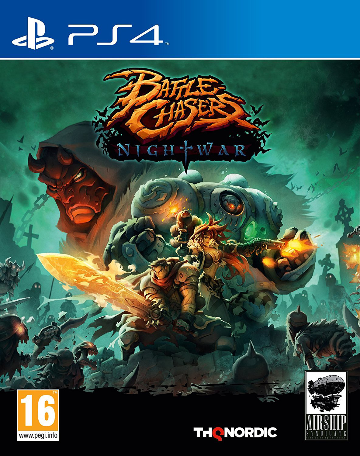 Battle Chasers Nightwar PS4 occasion