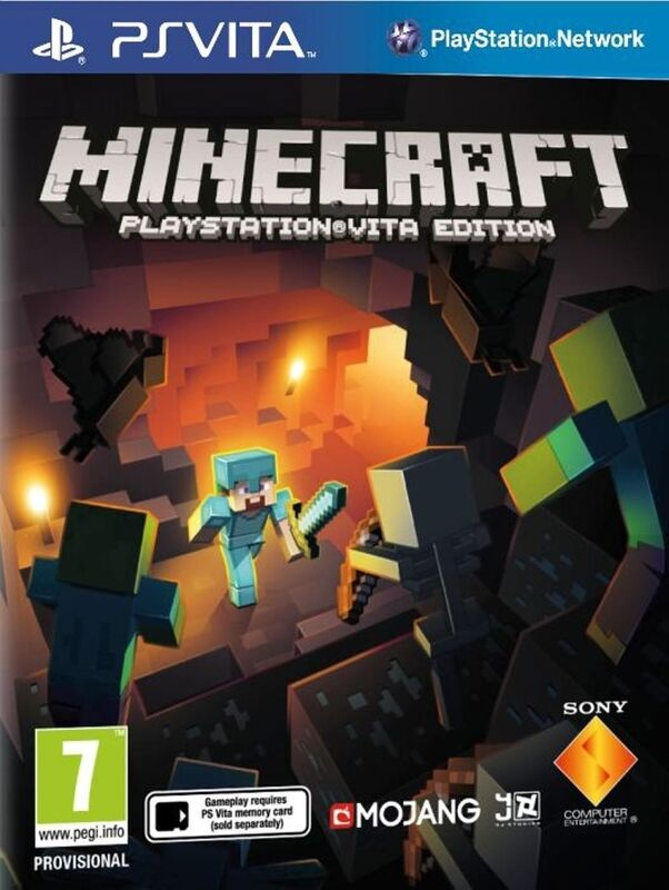 Minecraft  PS Vita occasion