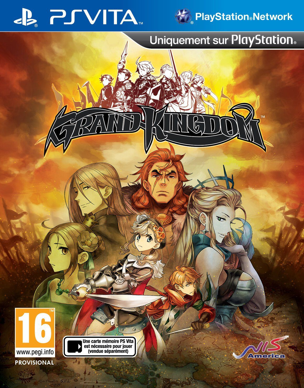 Grand Kingdom PS Vita