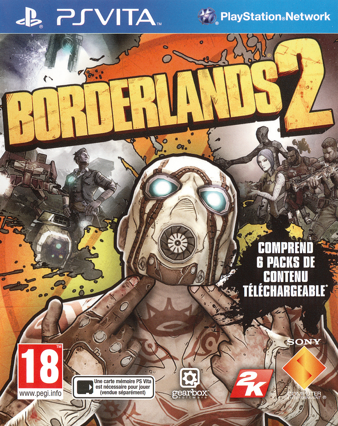 Borderlands 2 PS Vita occasion
