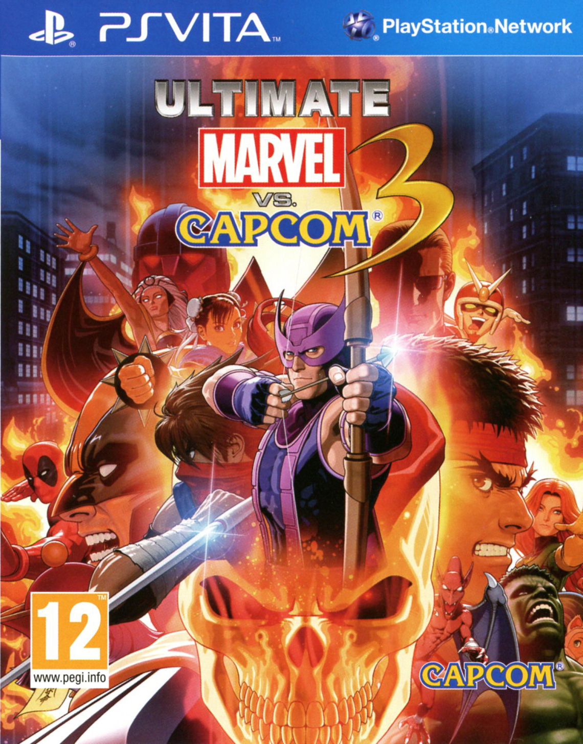 Ultimate Marvel VS Capcom 3 PS Vita occasion
