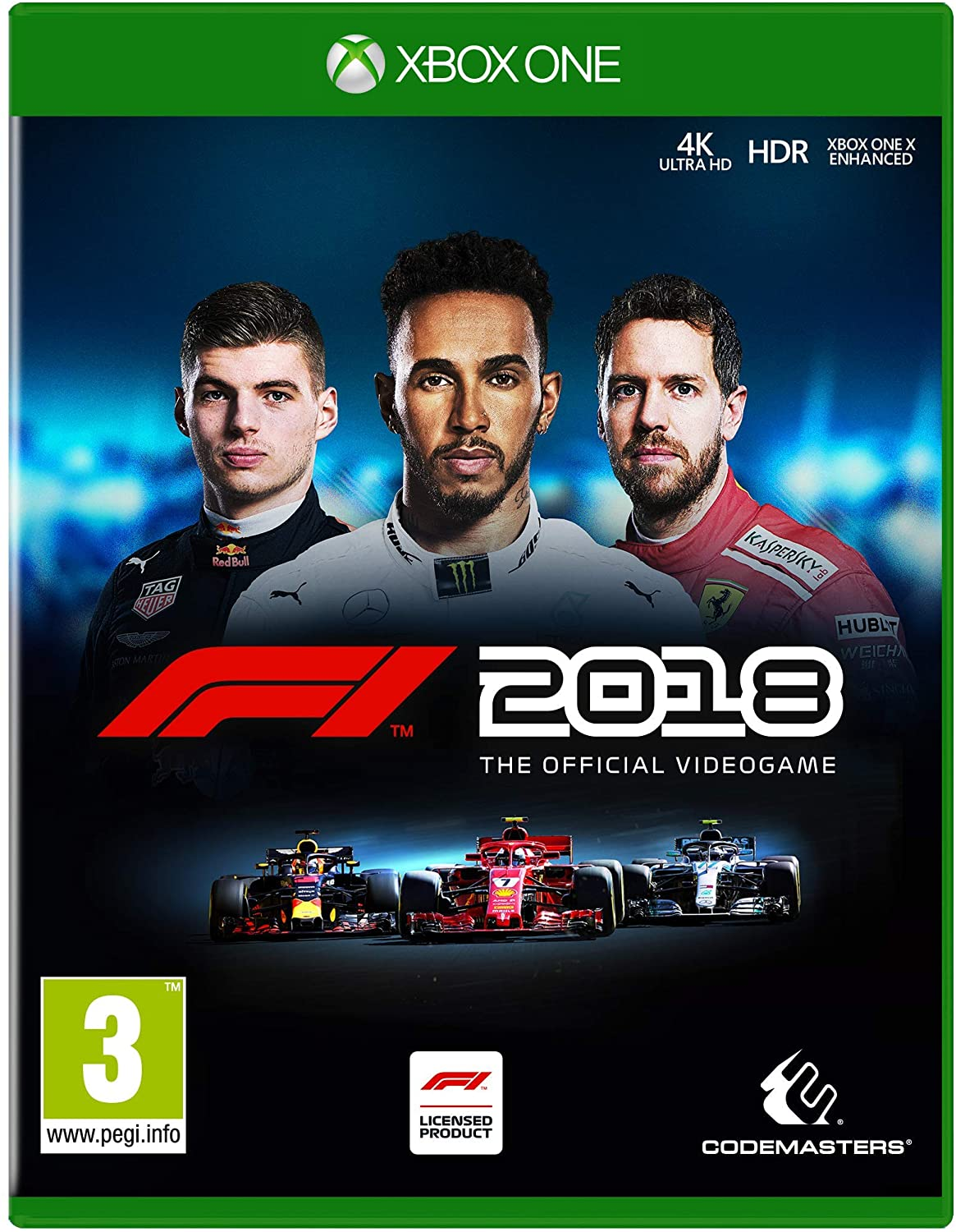 F1 2018 Xbox One occasion
