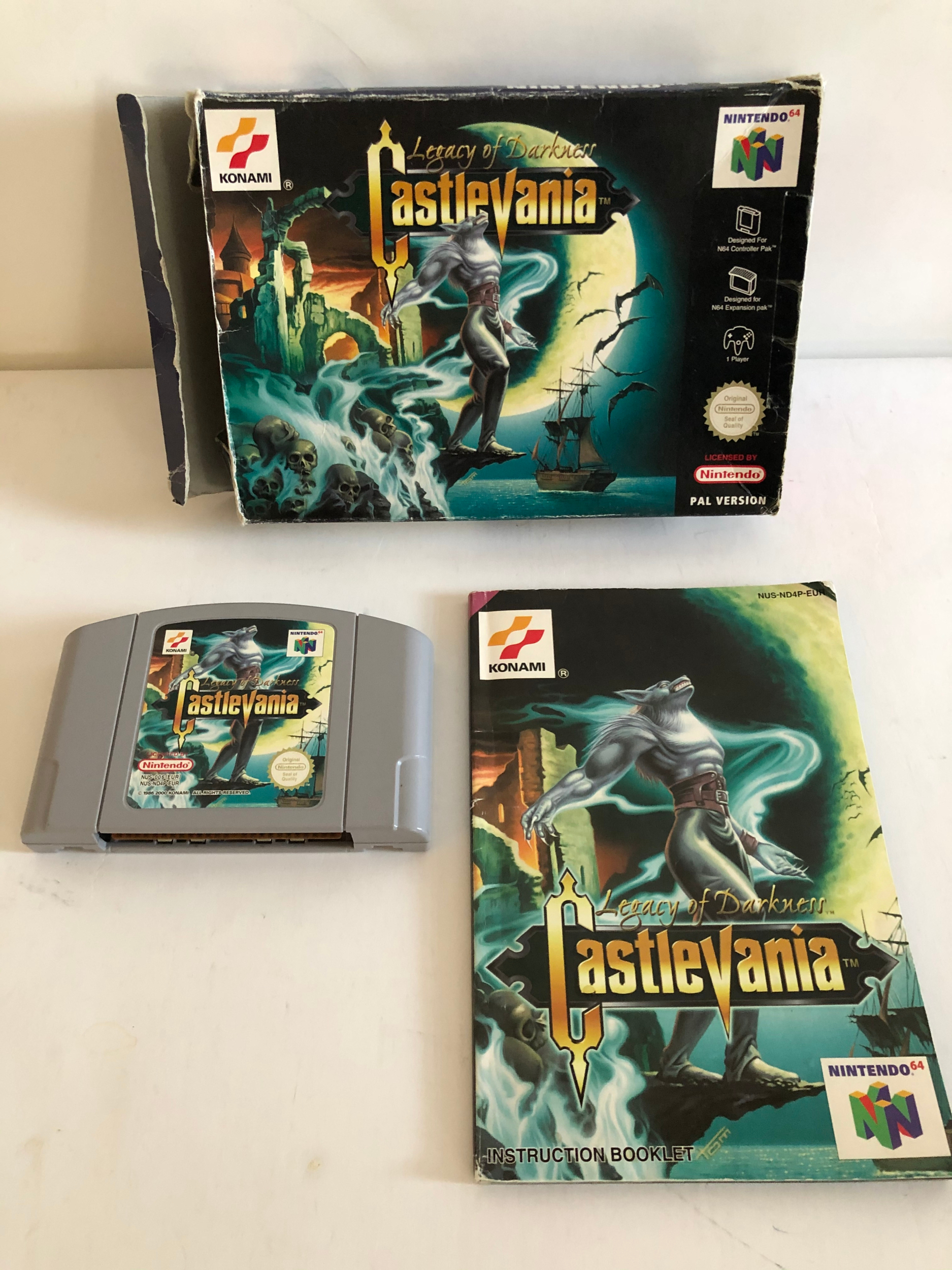 Castlevania Lagacy of Darkness