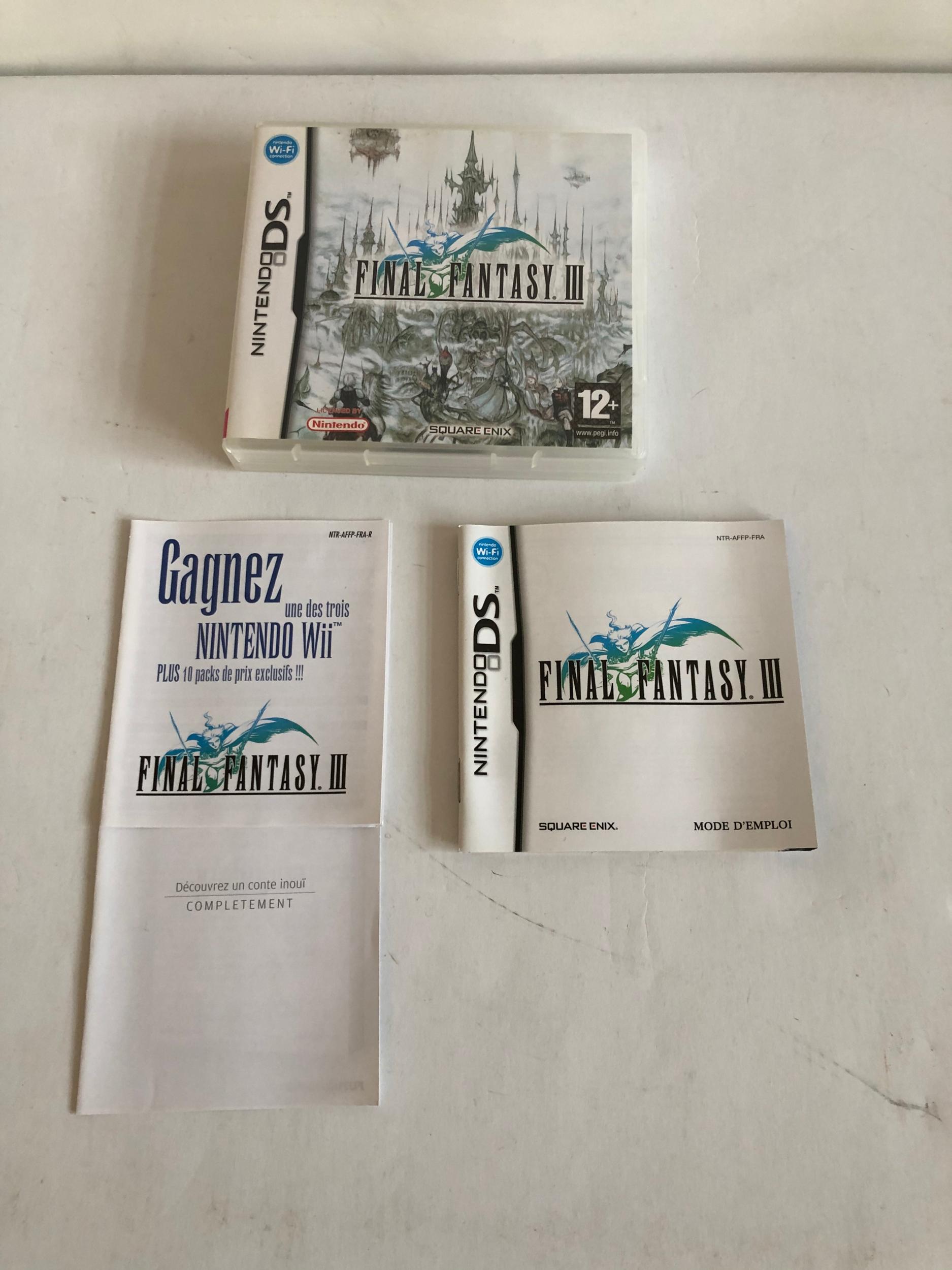 Final Fantasy 3 III