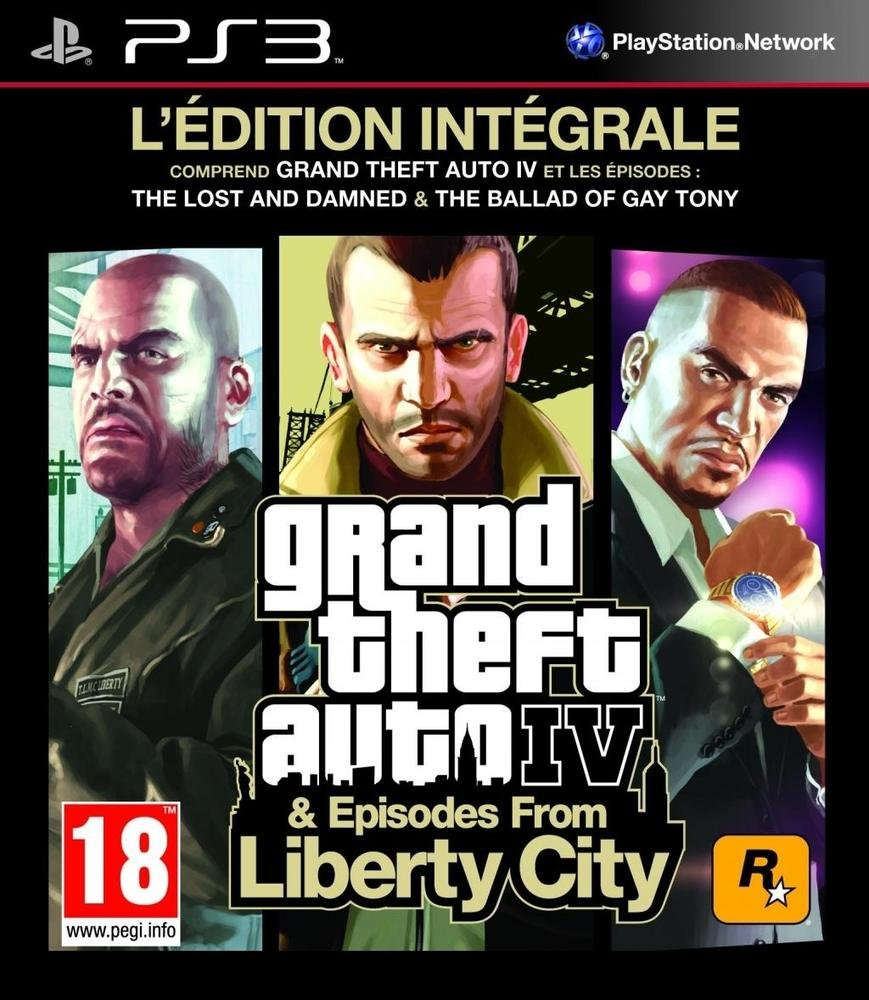 GTA Grand Theft Auto IV Edition Intégrale PS3 occasion
