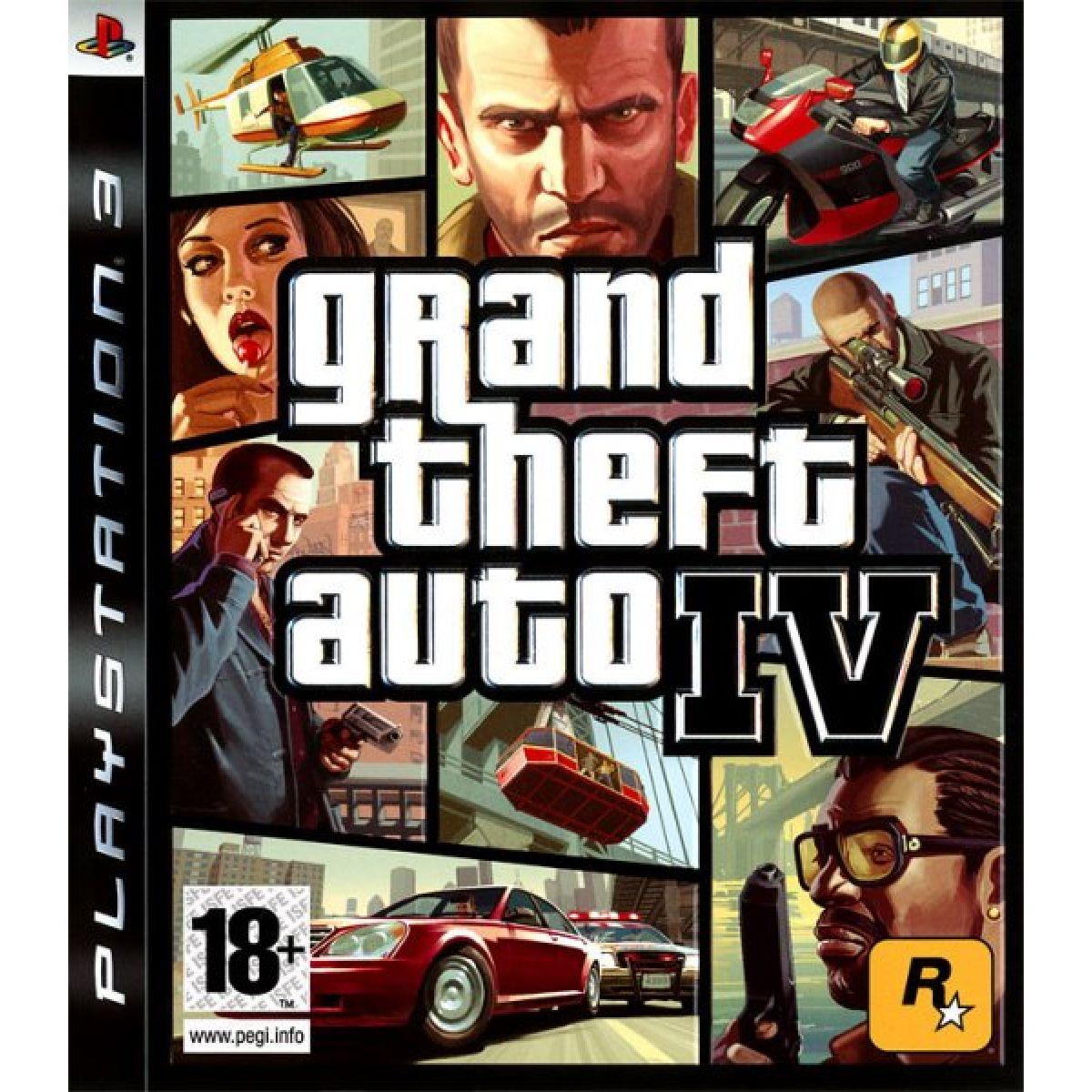 GTA IV Platinum PS3 occasion