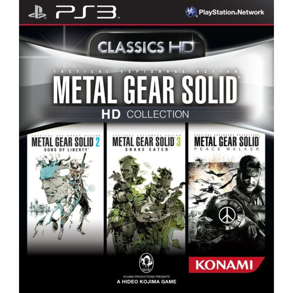 Metal Gear Solid HD Collection PS3 occasion