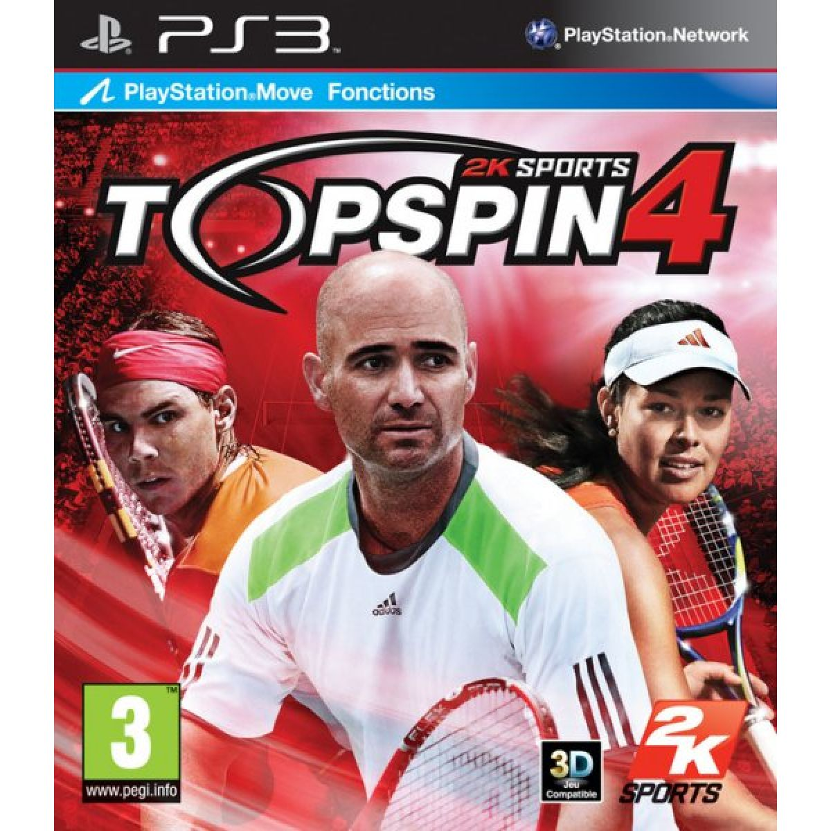Top Spin 4 PS3 occasion