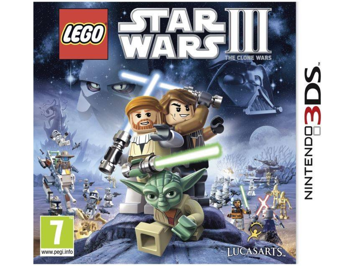 Lego Star Wars III The Clone Wars 3DS occasion