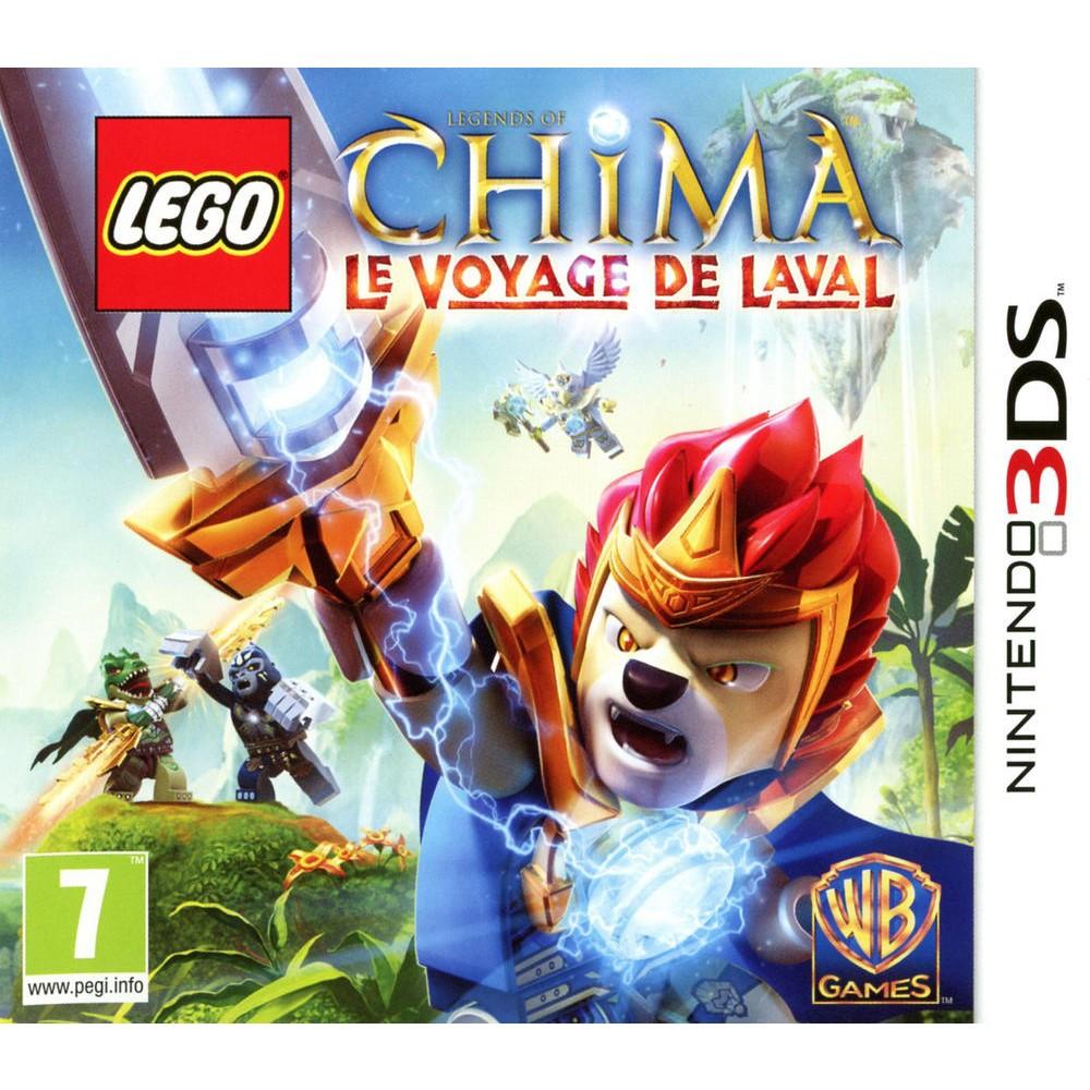 Lego Legends of Chima Le Voyage de Laval 3DS occasion